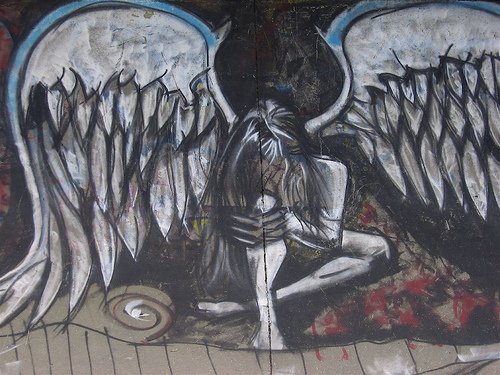 angel graffiti